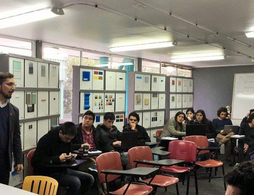 OTTL USM dicta Taller sobre búsqueda de patentes a los alumnos de la Sede de Viña del Mar