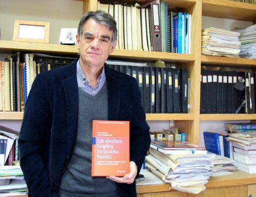 Académico de Obras Civiles USM publica libro técnico en la prestigiosa Editorial Springer