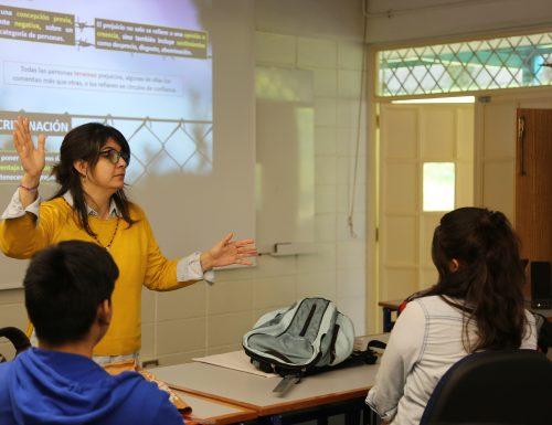 Estudiantes y profesores de la Sede Viña del Mar se capacitan en temáticas de género