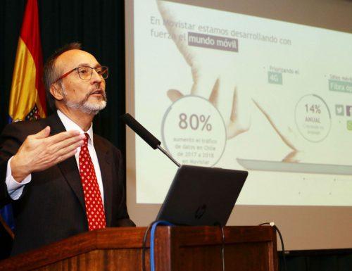 Especialistas reflexionan en la USM sobre la llegada de tecnología 5G al país