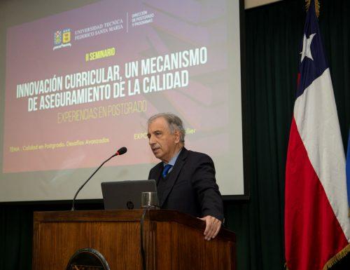 USM desarrolla II Seminario de Innovación Curricular en postgrado