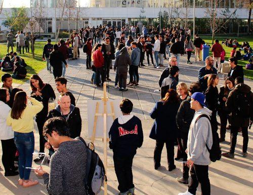 Alta convocatoria para presenciar el eclipse solar en Campus San Joaquín