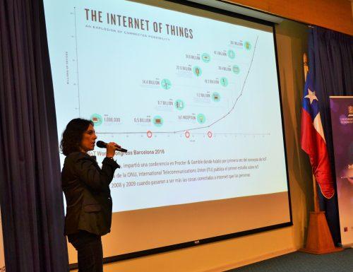 Sansanos realizan 1° Simposio Smart Cities & IoT en la Sede Viña del Mar