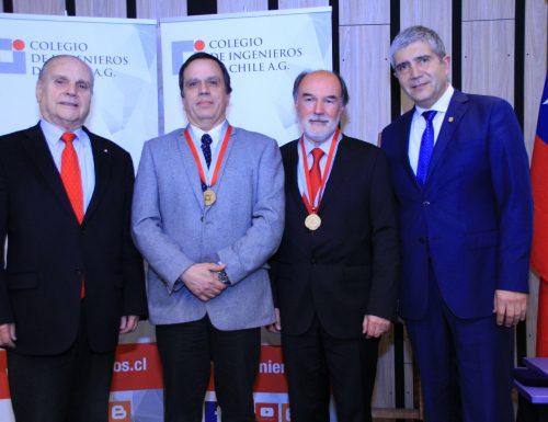 Académico de la USM fue distinguido premio nacional del Colegio de Ingenieros