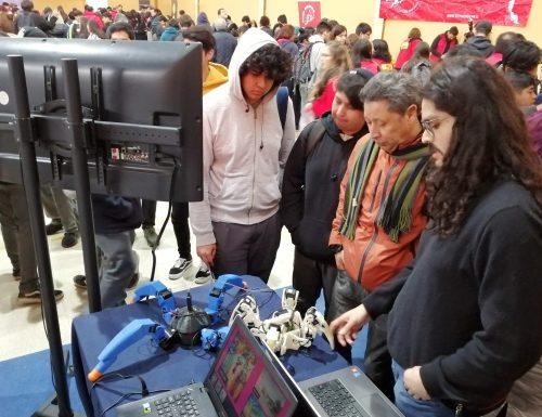 Estudiantes de la USM participaron con innovadores proyectos de tecnología en el Congreso Futuro de Peñalolén