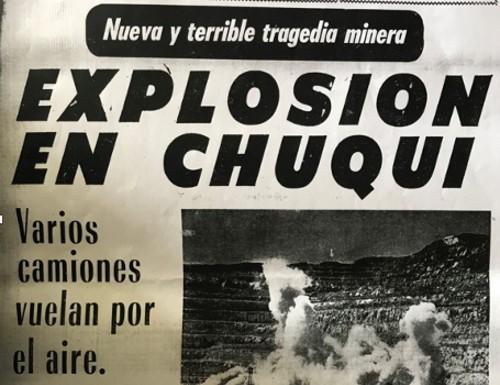 Opinión: Explosiones en Chuquicamata, reflexión sobre los aspectos de control de los riesgos